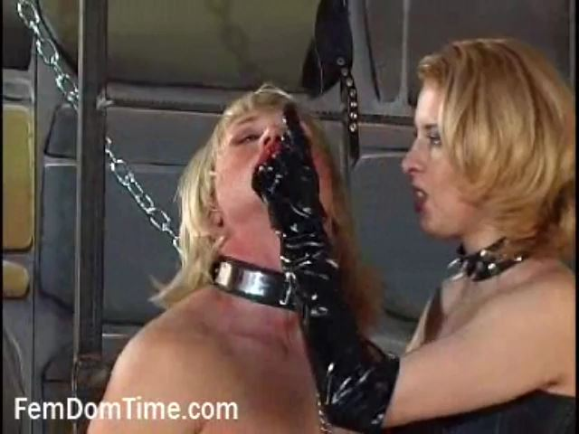 Mistress Constance In Scene: Kiss From the Mistress - FEMDOMTIME - SD/480p/MP4