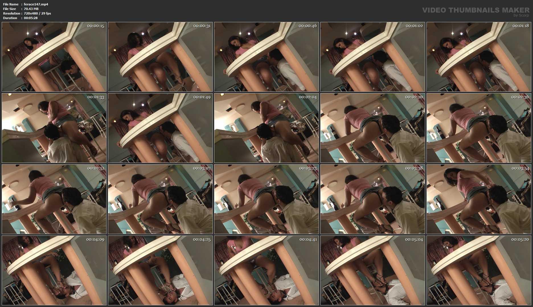 Mistress Elizabeth In Scene: Enjoy Farts - FEMRACE / DOMINANT GIRLS - SD/480p/MP4