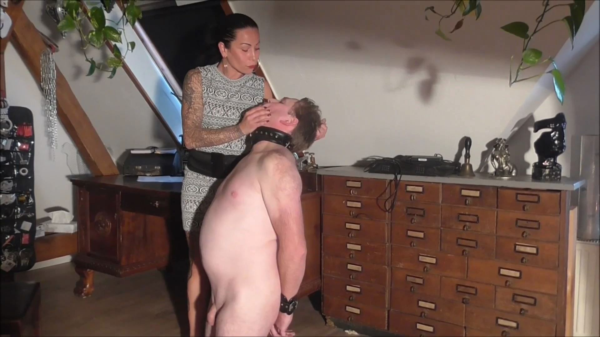 SENORA EL COMBATIENTE In Scene: MY NEW FACE IN NEED OF A FIST - DEUTSCHE DOMINAS / GERMANY FEMDOM - FULL HD/1080p/MP4