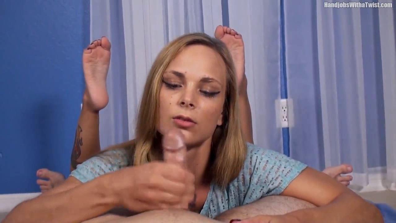 Jenny Jett In Scene: Soft Hands on Your Cock POV Handjob - HANDJOBSWITHATWIST - HD/720p/MP4