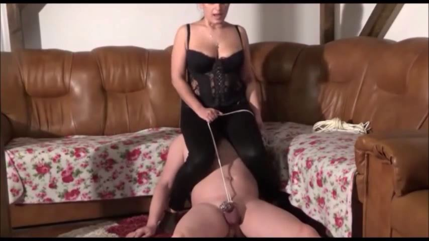 MISTRESS ROBERTA In Scene: TORTURING MY SLAVE IN BONDAGE PART 1 - HOUSE OF PAIN - SD/480p/MP4