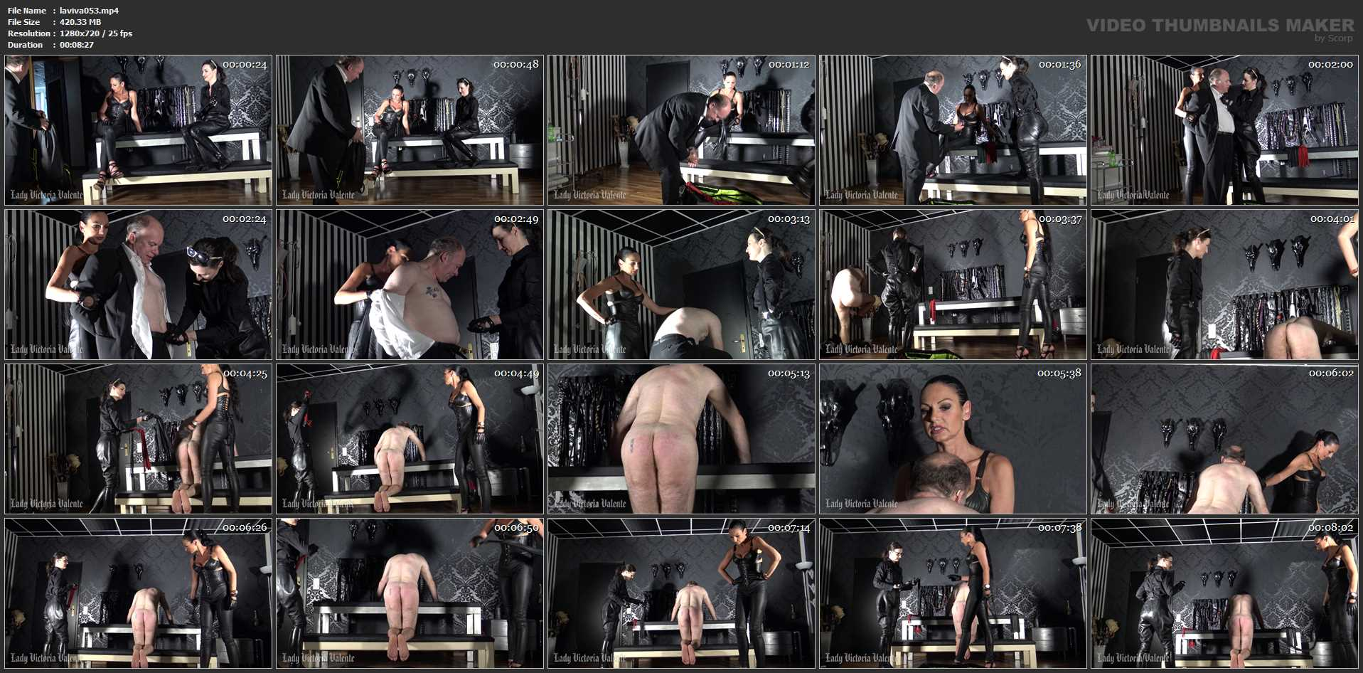 Lady Victoria Valente In Scene: The whip seller Part 1 - LADYVICTORIAVALENTE - HD/720p/MP4