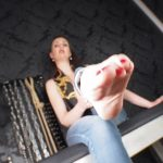 Lady Victoria Valente In Scene: Femdom POV Smell my extreme sweaty feet – LADYVICTORIAVALENTE – HD/720p/MP4