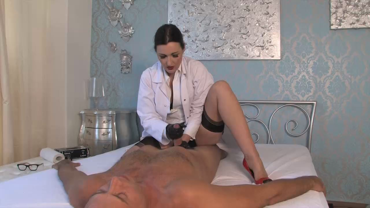 Lady Victoria Valente In Scene: Dr Cock Nipple play and Handjob - LADYVICTORIAVALENTE / REAL GERMAN MISTRESS - HD/720p/MP4