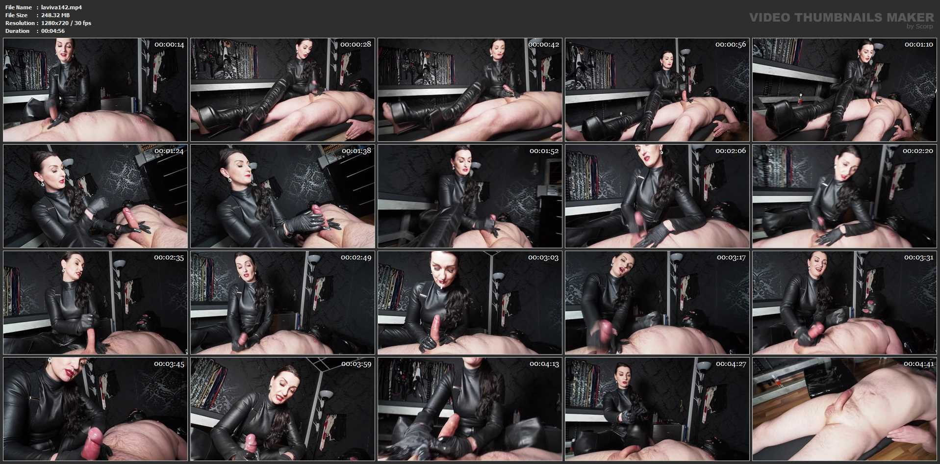 Lady Victoria Valente In Scene: The Made Handjob - LADYVICTORIAVALENTE / REAL GERMAN MISTRESS - HD/720p/MP4