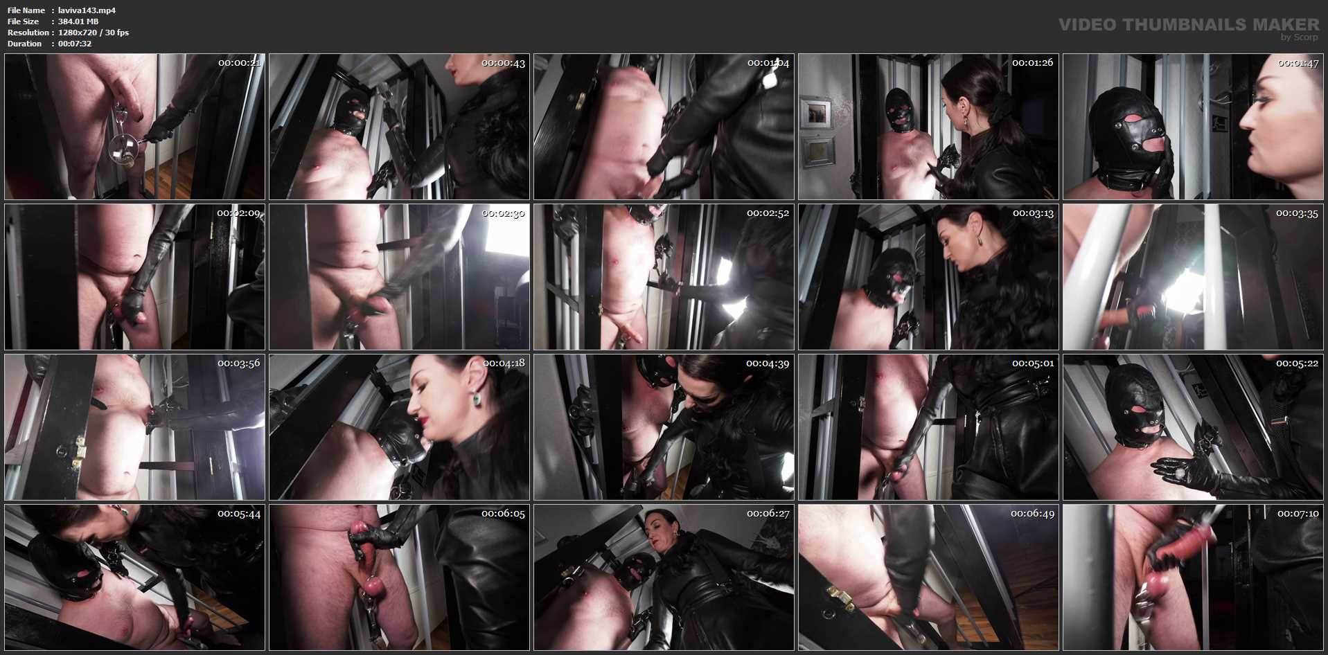Lady Victoria Valente In Scene: Heavy play in the cage Part 1 - LADYVICTORIAVALENTE / REAL GERMAN MISTRESS - HD/720p/MP4