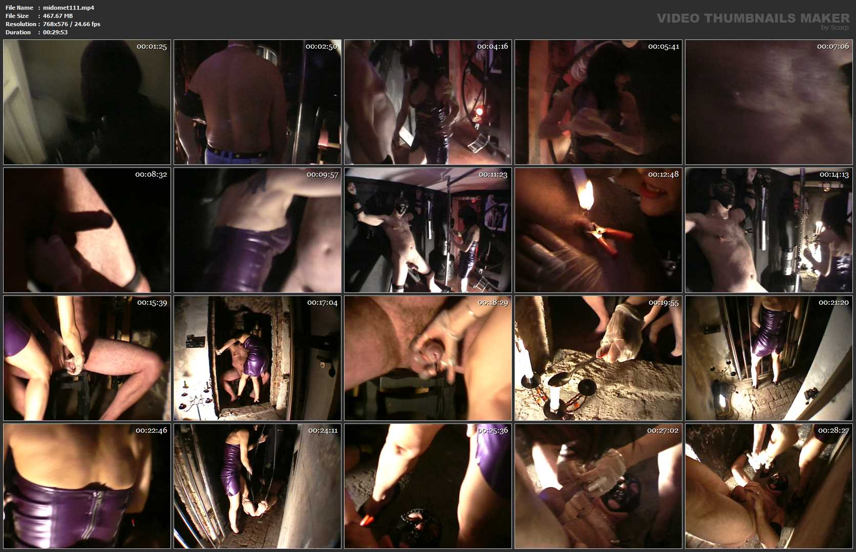Mistress Dometria In Scene: Kidnapped Off The Streeti - MISTRESS DOMETRIA BDSM CLIPS / BRIGHTONDUNGEON - SD/576p/MP4