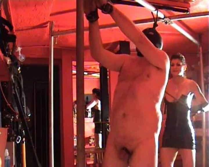 Mistress Dometria In Scene: Bullwhip Lashes - MISTRESS DOMETRIA BDSM CLIPS / BRIGHTONDUNGEON - LQ/360p/MP4