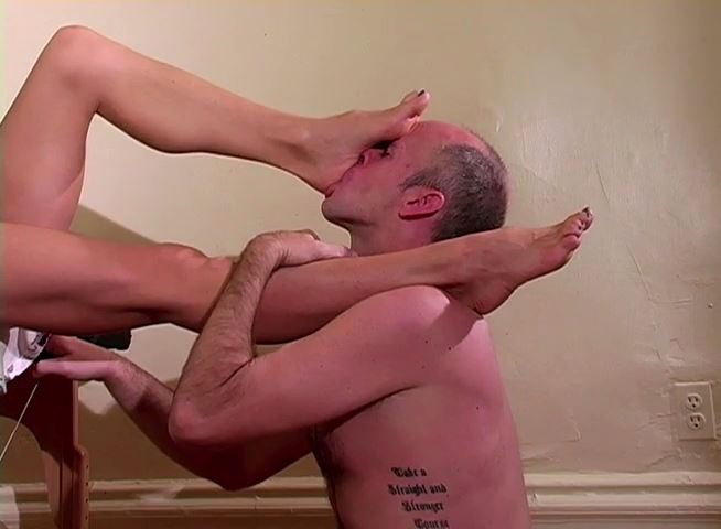 Deep Foot Gagging - MISTRESS TRISH - SD/480p/MP4