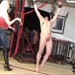 Mistress Kelly Kalashnik In Scene: DANCE UNDER WHIPS LASHES – RIDING-MISTRESS / DUTCH FEMDOM – SD/576p/MP4