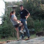 INESSA IN A GROVE – RUSSIAN BALLBUSTING / BALLBUSTING ROKSANA – SD/406p/MP4