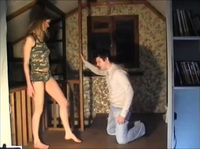 TWO GIRLS IT MEANS THAT THE BALLS DO NOT HAVE A CHANCE - RUSSIAN BALLBUSTING / BALLBUSTING ROKSANA - SD/480p/MP4