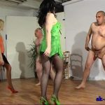 Balls Bashing Duet In Scene: Front Kicking – SPIKEYSTEP VIDEO PRODUCTIONS – SD/576p/MP4