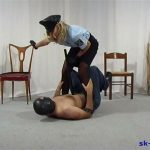 Brutal Cop Girl In Scene: Faceslapping – SPIKEYSTEP VIDEO PRODUCTIONS – SD/576p/MP4