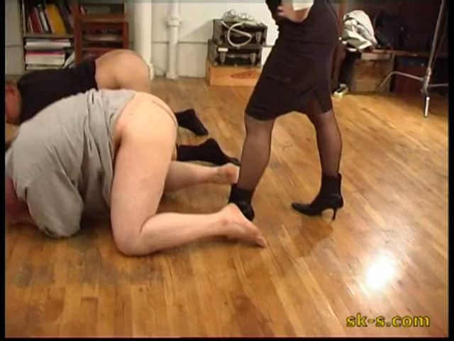 Business Girls In Scene: Violent Testicles Kicking Doggy Style - SPIKEYSTEP VIDEO PRODUCTIONS - SD/480p/MP4
