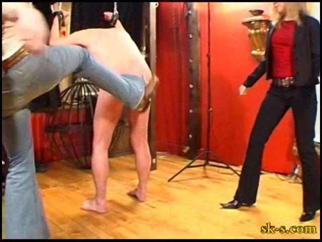 Kicking Bleed Ass: Brutal Kicking - SPIKEYSTEP VIDEO PRODUCTIONS - SD/480p/MP4