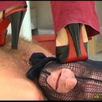 Steel Vs Flesh: Black Sandals – SPIKEYSTEP VIDEO PRODUCTIONS – SD/480p/MP4