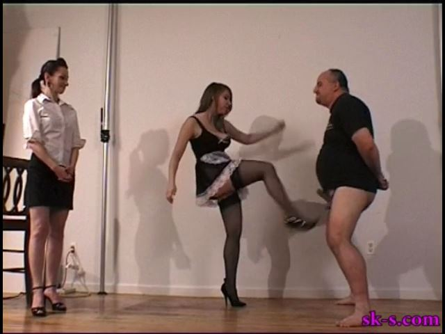 Punitive Balls Kicking - SPIKEYSTEP VIDEO PRODUCTIONS - SD/480p/MP4