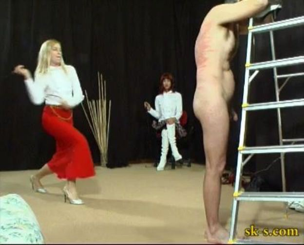 Russian Style Whipping: Finishing Him Off - SPIKEYSTEP VIDEO PRODUCTIONS - LQ/336p/MP4
