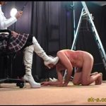 Russian Style Whipping: Dog Whipping Boots Licking – SPIKEYSTEP VIDEO PRODUCTIONS – LQ/336p/MP4