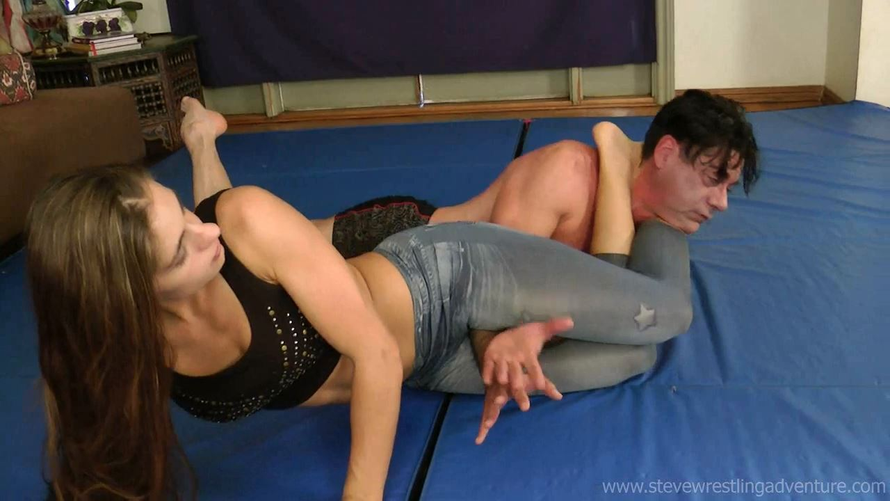 Total Foot Domination - STEVEWRESTLINGADVENTURES - HD/720p/MP4