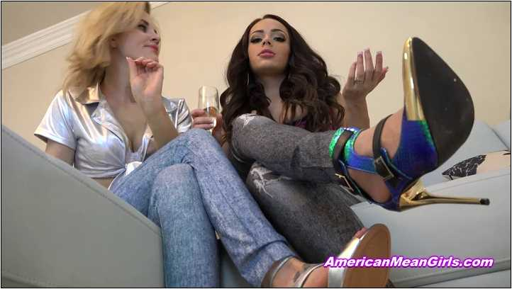 Princess Carmela, Goddess Nikkole In Scene: Mean Girl Dating Advice - THE MEAN GIRLS POV - SD/406p/MP4