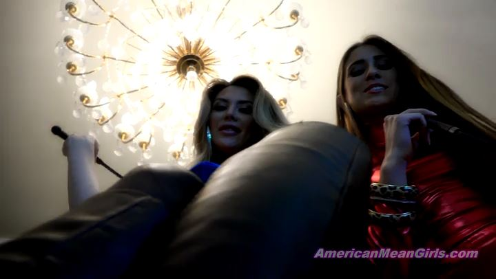 Superior Goddess Brooke, Princess Beverly In Scene: Horny Boot Bitch - THE MEAN GIRLS POV - SD/406p/MP4