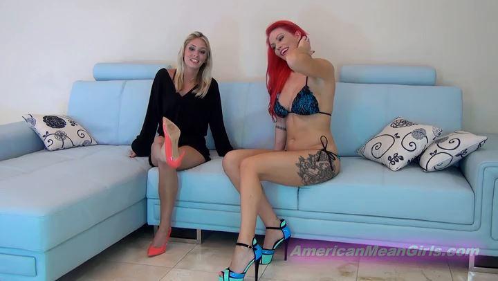 Goddess Harley, Princess Cindi In Scene: Bonus Shoe Licker Interview - THE MEAN GIRLS POV - SD/406p/MP4