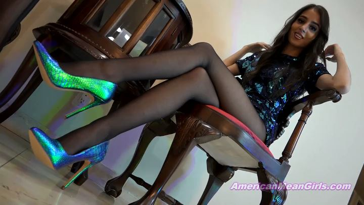 Princess Penelope, Nikkole In Scene: Virtual Date For Leg Losers - THE MEAN GIRLS POV - SD/406p/MP4