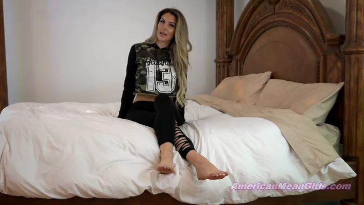 Superior Goddess Brooke In Scene: No Respect For Foot Worshipers - THE MEAN GIRLS POV - SD/406p/MP4