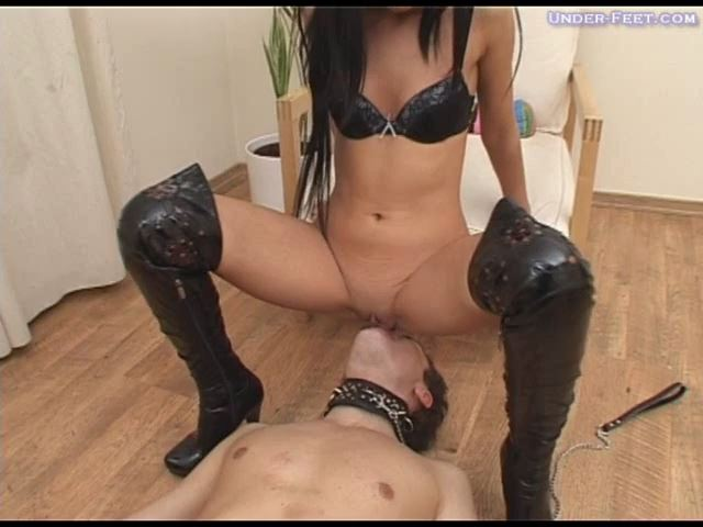 Kristina Foot femdom session from 01 of April 2009 - UNDER-FEET - SD/480p/MP4