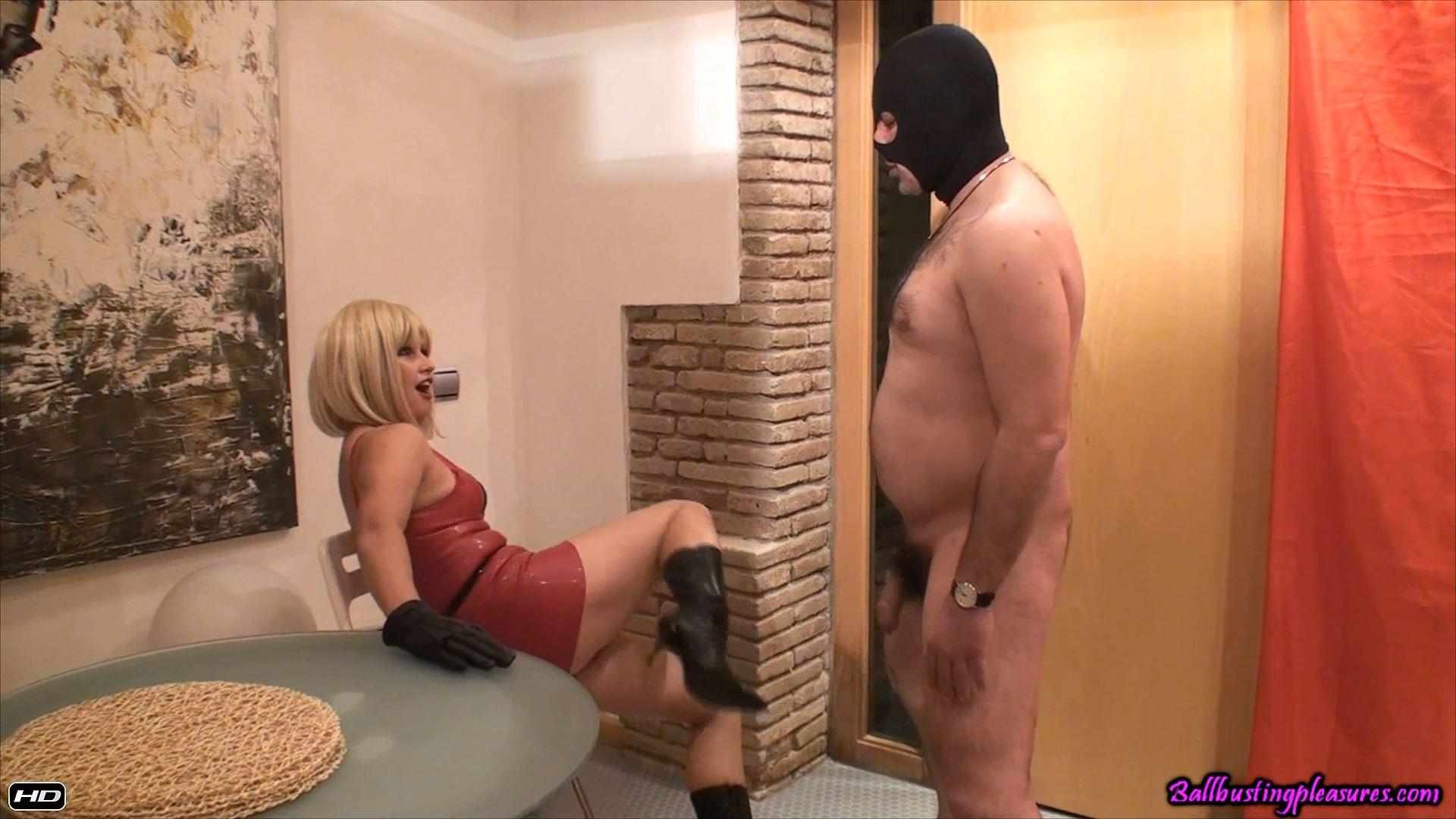 Goddess Karen In Scene: Demolished Nuts - BALLBUSTINGPLEASURES - FULL HD/1080p/MP4