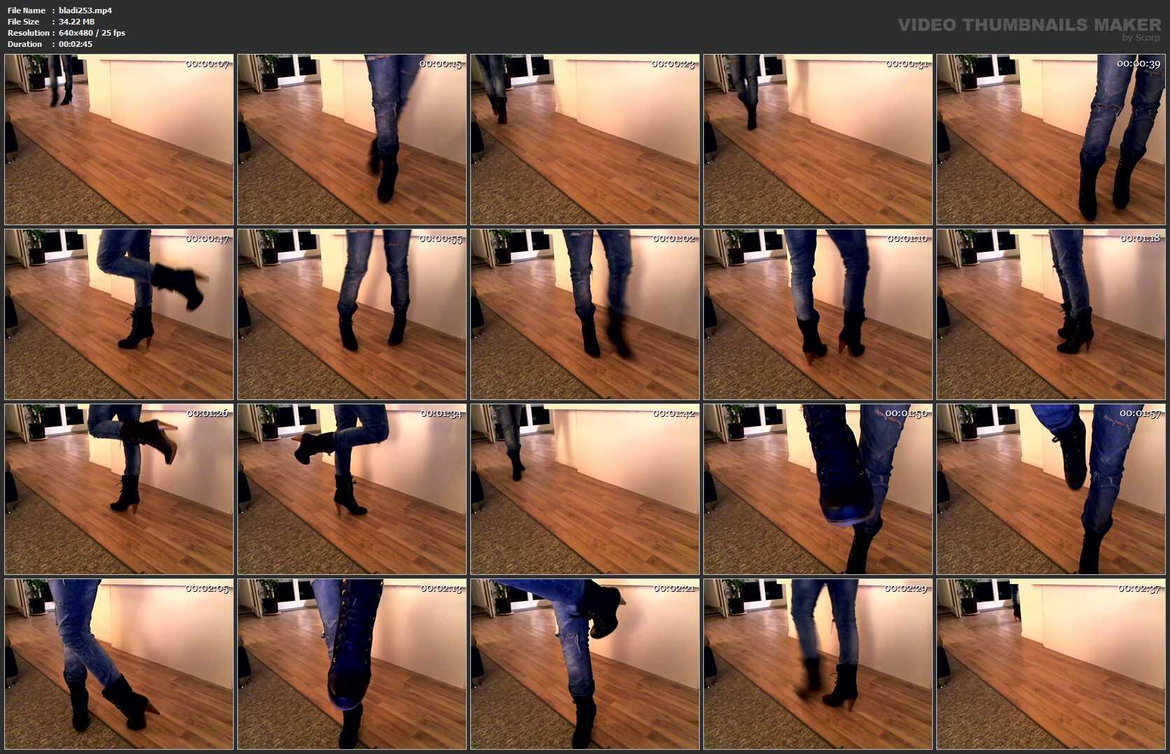 Mistress Blackdiamoond In Scene: New Boots - BLACKDIAMOOND - SD/480p/MP4
