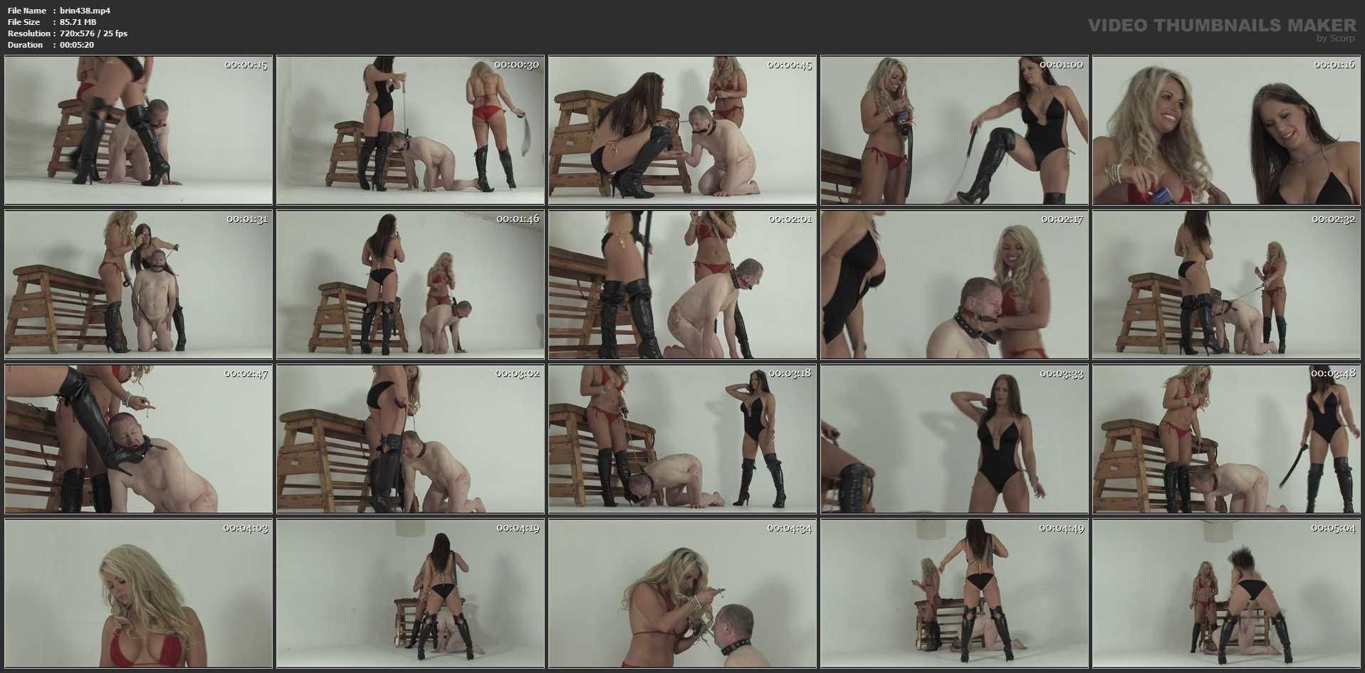 Ashleigh Embers, Brooke Lee In Scene: Bikini Terror Part 2 - THEBRITISHINSTITUTION - SD/576p/MP4