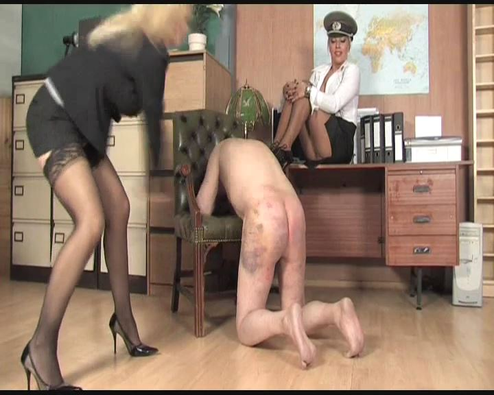 Lana Cox, Sadista In Scene: Office Interrogation Part 3 - THEBRITISHINSTITUTION - SD/576p/MP4