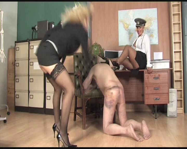 Lana Cox, Sadista In Scene: Office Interrogation Part 2 - THEBRITISHINSTITUTION - SD/576p/MP4