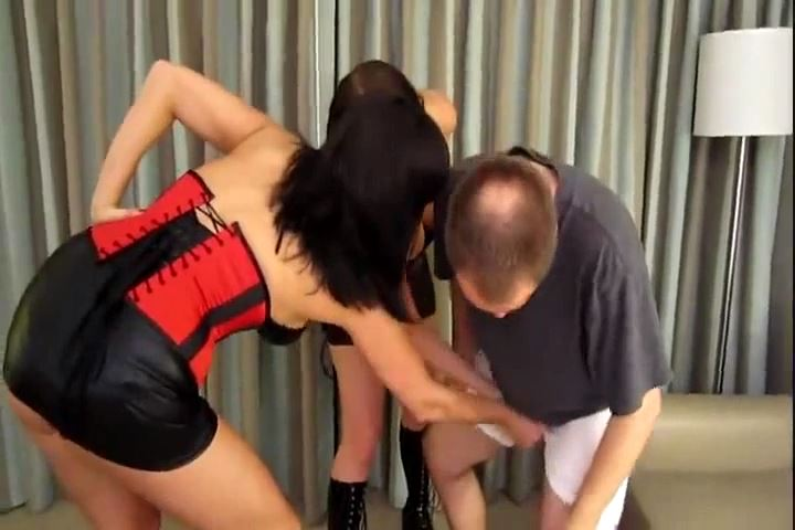 Dixie Comet, Samantha Grace In Scene: Dixie & Samantha Bring Him to His Knees - CRUDELIS AMATOR BALLBUSTING FETISH - SD/480p/MP4