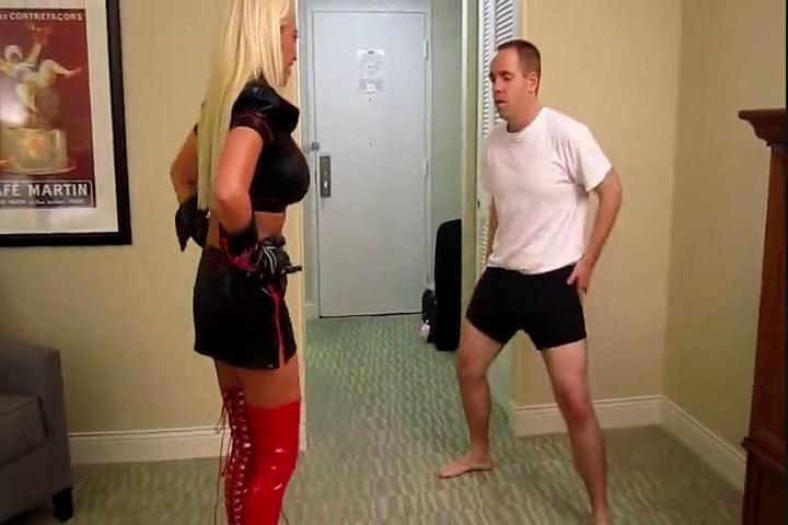 Nicole Moser In Scene: Nicole Punishes Her Whiney Foot Boy - CRUDELIS AMATOR BALLBUSTING FETISH - SD/480p/MP4