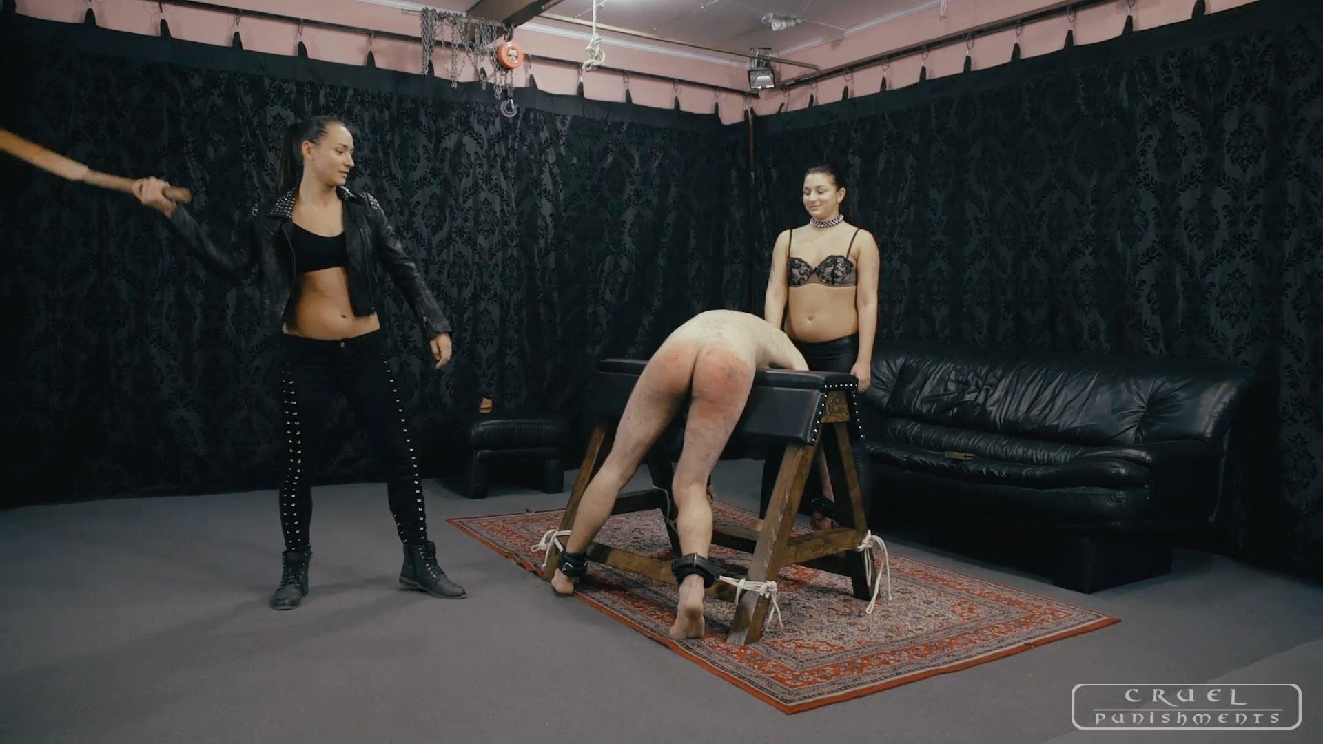 Mistress Darkness In Scene: SPANKED BY GIRLFRIENDS - CRUEL PUNISHMENTS - SEVERE FEMDOM - FULL HD/1080p/MP4