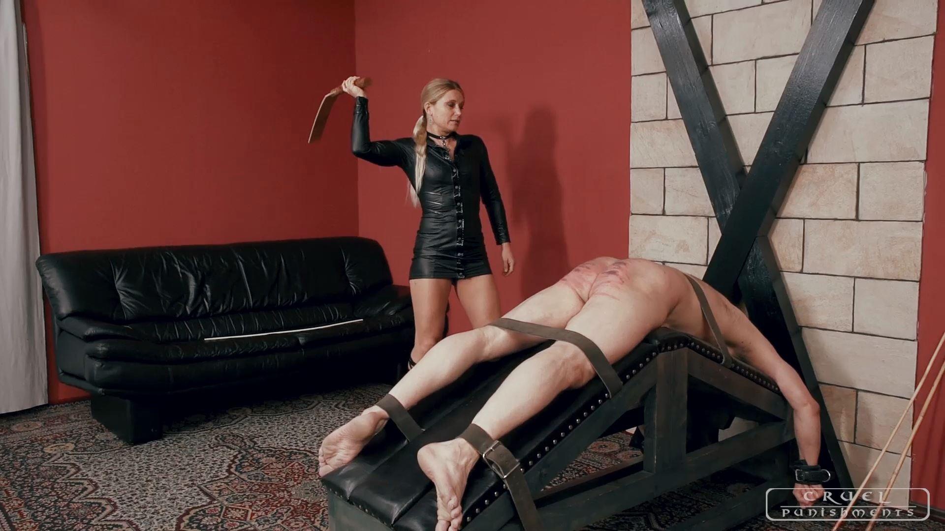 Mistress Zita In Scene: INTENSE CANING - CRUEL PUNISHMENTS - SEVERE FEMDOM - FULL HD/1080p/MP4