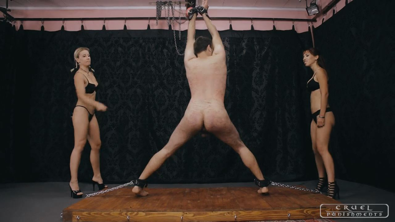Mistress Anette In Scene: USED BY TWO MISTRESSES PART 1 - CRUEL PUNISHMENTS - SEVERE FEMDOM - HD/720p/MP4