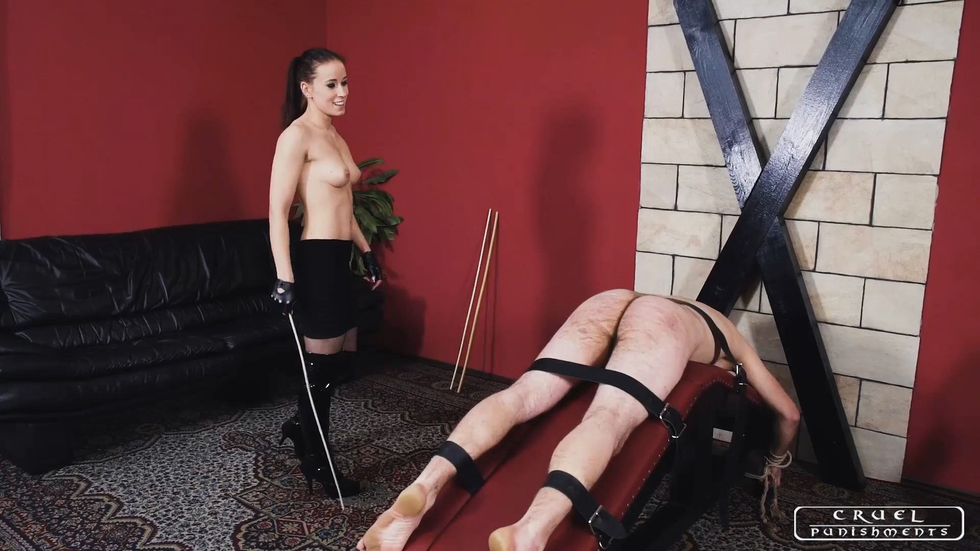 Lady Anette In Scene: Varied cruel punishments - CRUEL PUNISHMENTS - SEVERE FEMDOM - FULL HD/1080p/MP4
