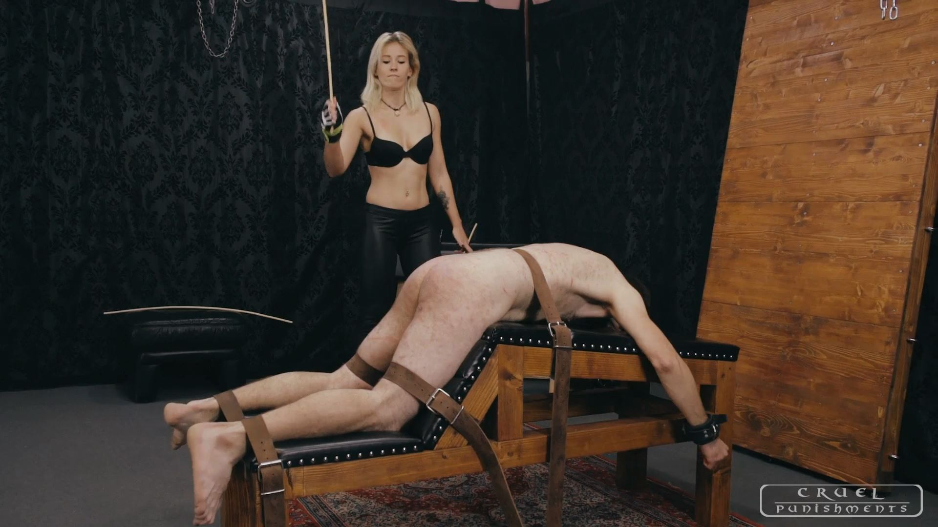 Mistress Anette In Scene: Anette's most brutal punishments Part 3 - CRUEL PUNISHMENTS - SEVERE FEMDOM - FULL HD/1080p/MP4