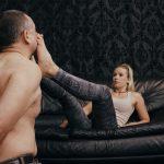 Mistress Anette In Scene: Forceful feet slaps – CRUEL PUNISHMENTS – SEVERE FEMDOM – FULL HD/1080p/MP4