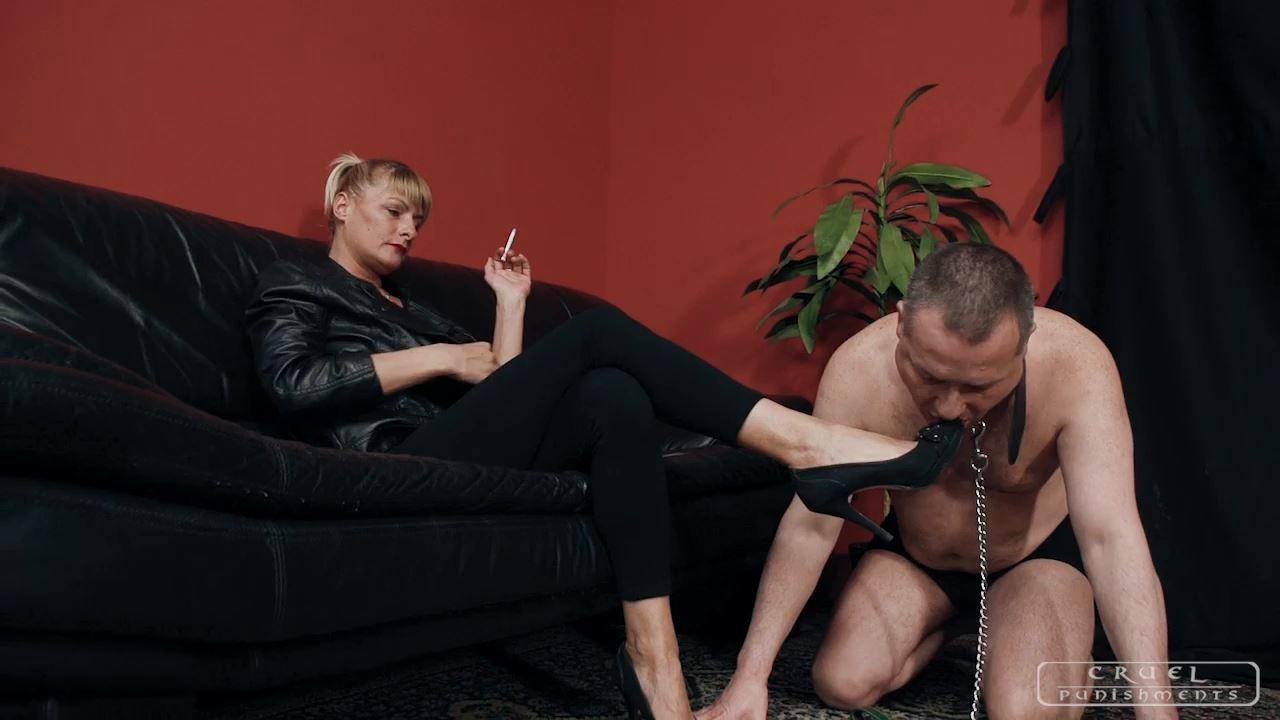 Mistress Bonnie In Scene: Two in one - CRUEL PUNISHMENTS - SEVERE FEMDOM - HD/720p/MP4