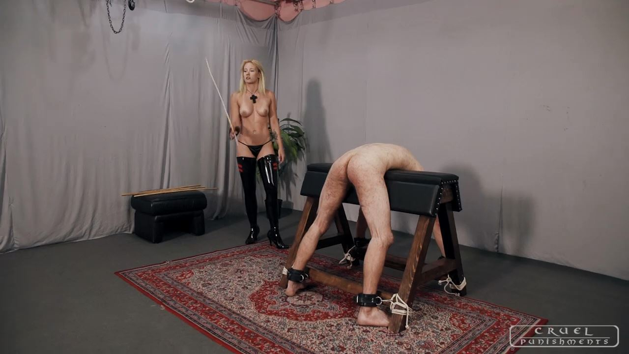 Mistress Anette In Scene: The screaming never stops Part 1 - CRUEL PUNISHMENTS - SEVERE FEMDOM - HD/720p/MP4