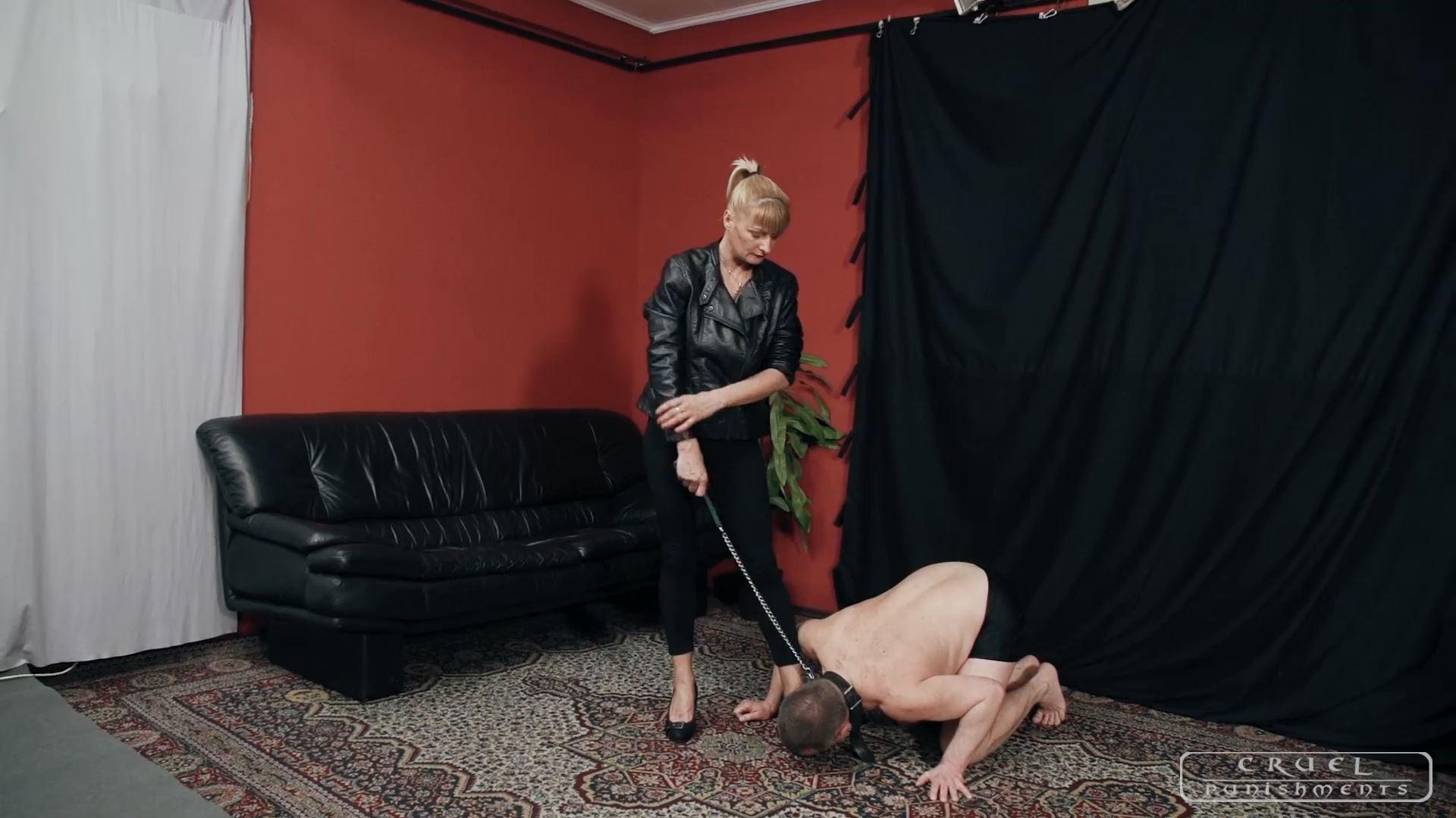 Mistress Bonnie In Scene: Two in one - CRUEL PUNISHMENTS - SEVERE FEMDOM - FULL HD/1080p/MP4