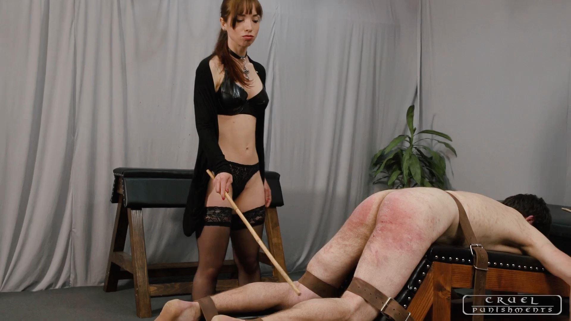 Mistress Nina In Scene: Three punishments for the slave Part 2 - CRUEL PUNISHMENTS - SEVERE FEMDOM - FULL HD/1080p/MP4