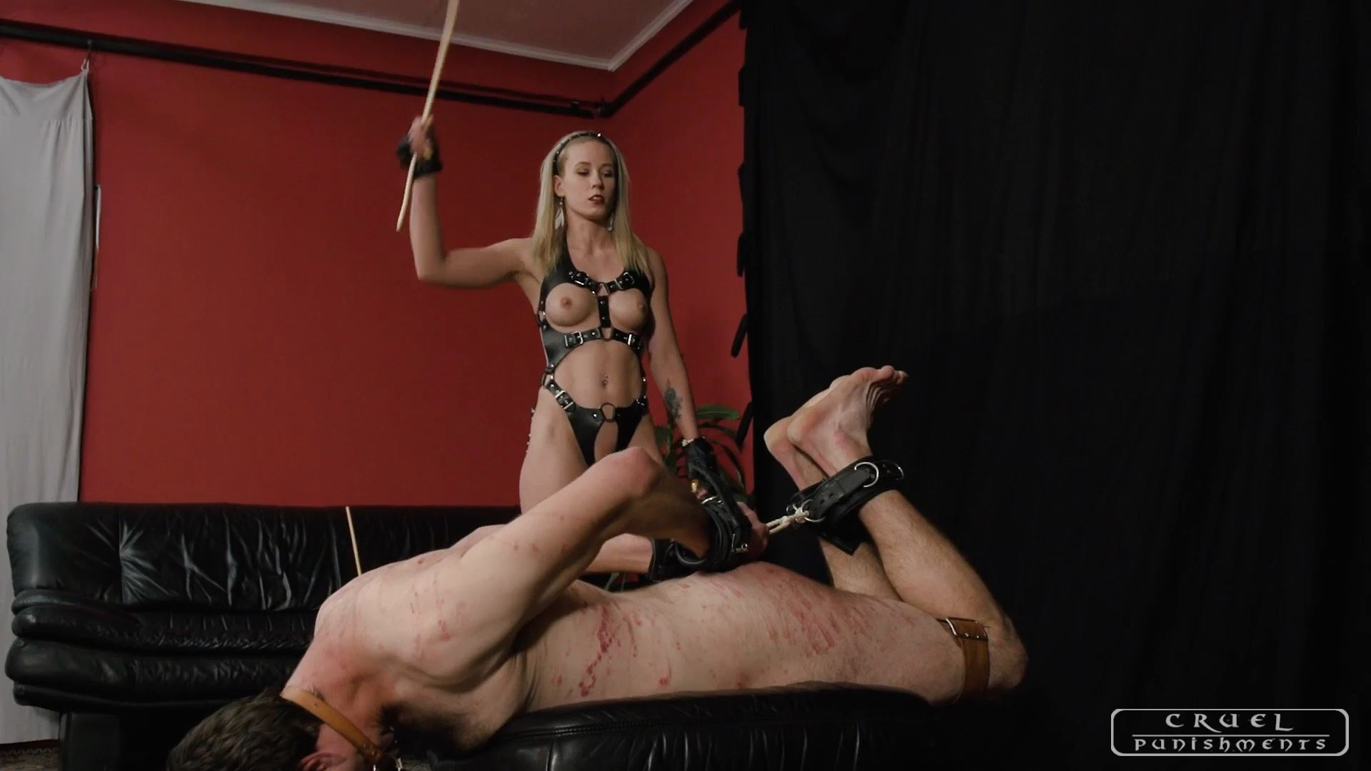 Mistress Anette In Scene: Good things in having a slave Part 3 - CRUEL PUNISHMENTS - SEVERE FEMDOM - FULL HD/1080p/MP4