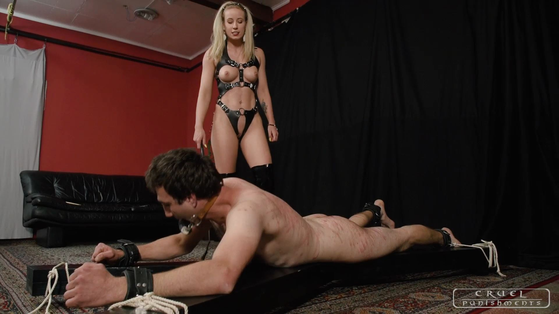 Mistress Anette In Scene: Good things in having a slave Part 2 - CRUEL PUNISHMENTS - SEVERE FEMDOM - FULL HD/1080p/MP4